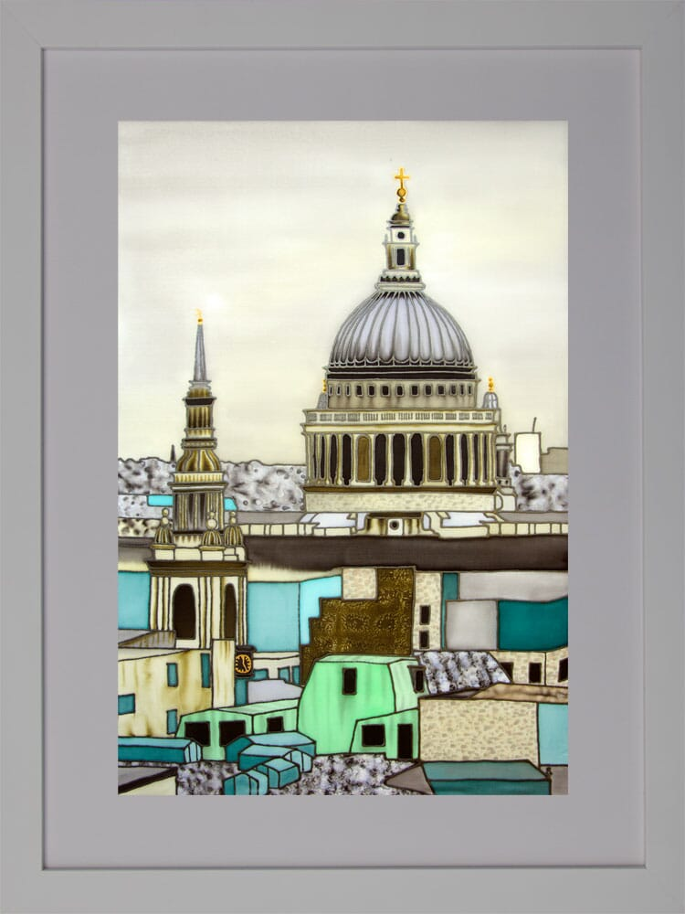 Across-the-Rooftops-to-St-Pauls-Framed-for-Web