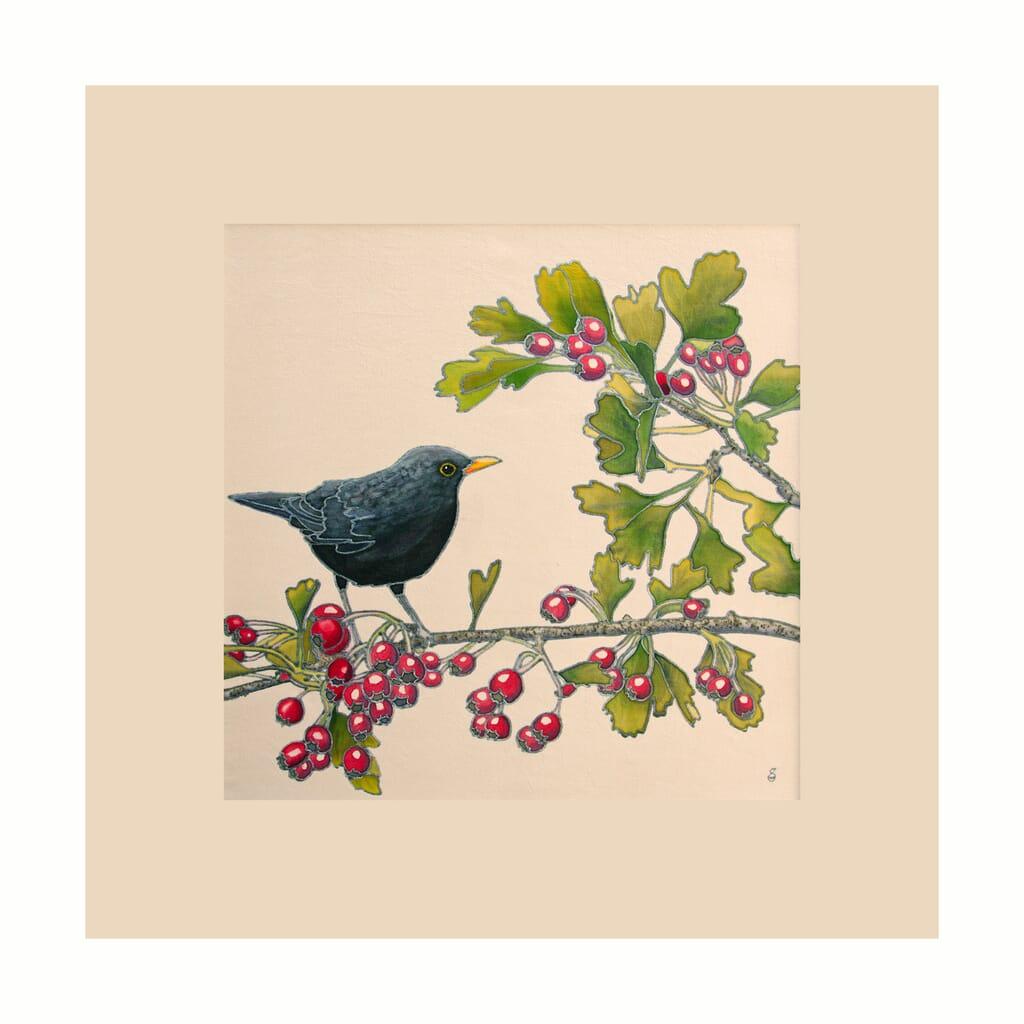 Blackbird-and-Hawthorn-Framed-for-Web