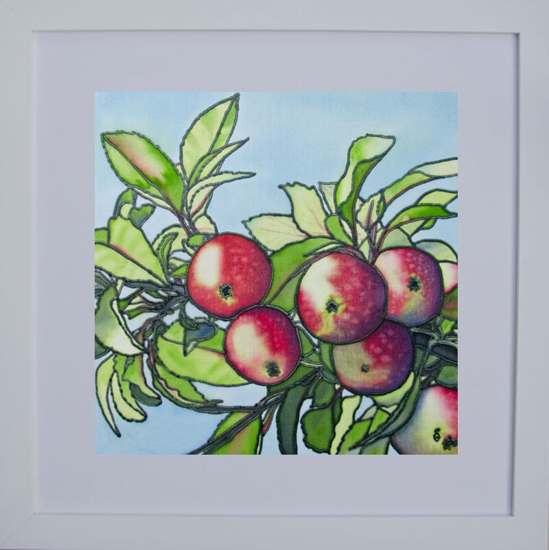 September's-Apple-Abundance Framed For Web