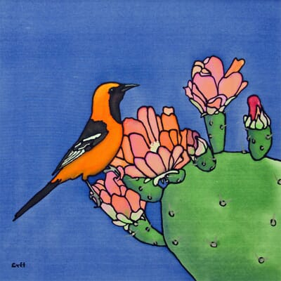 Oriole and Cactus I