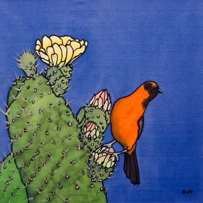 Oriole and Cactus II