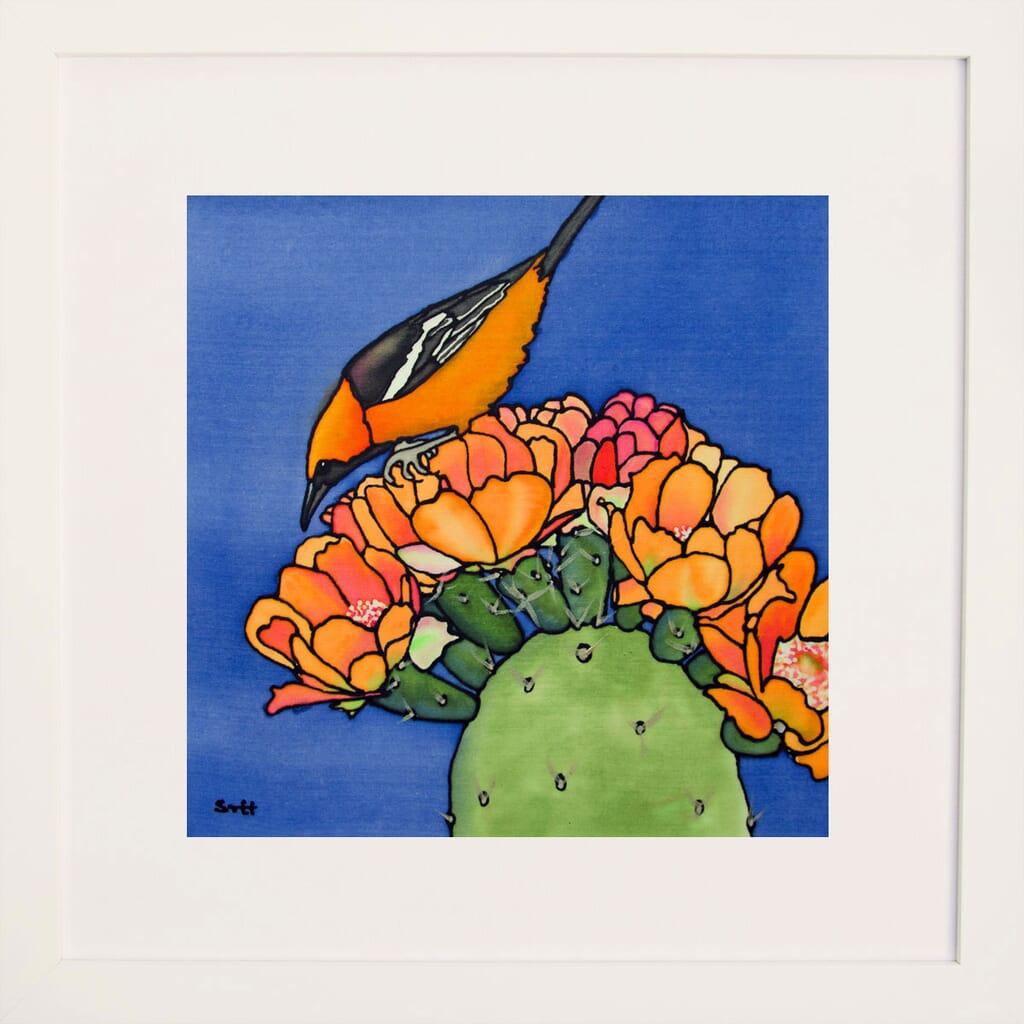 Oriole and Cactus III