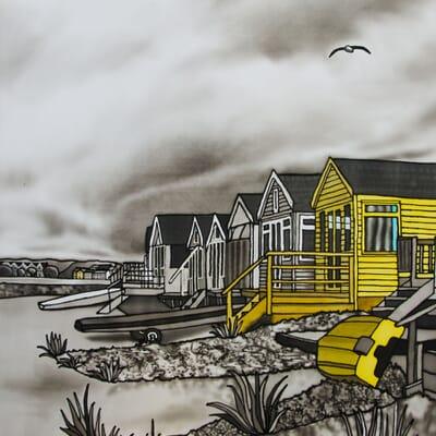 The Escape - Beach Huts at Mudeford