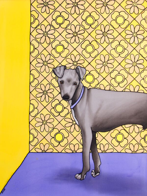 The Small Italian (Greyhound)